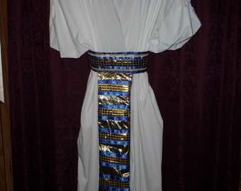 Be an Egyptian in an exotic Cleopatra or Pharaoh costume.