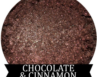 Dark Brown Eyeshadow Chocolate and Cinnamon