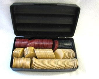 Poker Chips Clay