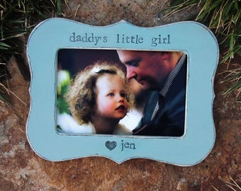 Father picture frame Fathers day gift for dad papa daddy abu apa Personalized Custom daughter wedding father bride gift photo frame
