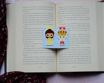 Peggy Hamilton Characters set 2 magnetic bookmark