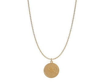 Leo - 14k Gold Filled Astrology Charm Necklace
