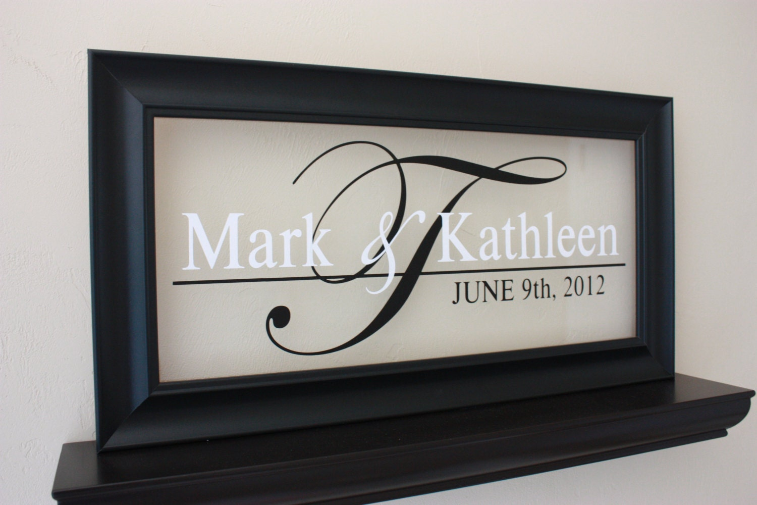 Personalized Picture Frame With Family Name Quote Family: Personalized Family Name Sign Picture Frame Wall Sign