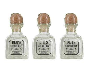 Personalized Tequila Labels 50 ml (Wedding Gift) 20 pieces minimal order