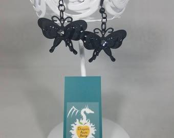 Filigree Fairytail Butterfly earrings