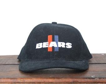 Vintage 90's Chicago Bears Football NFL Hat Snapback Baseball Cap