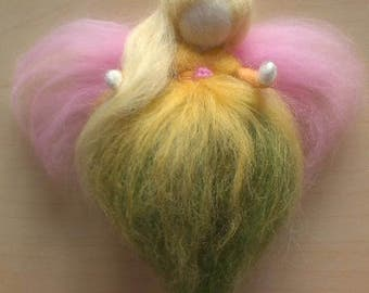 Waldorf Inspired Needle-Felted Spring Fairy