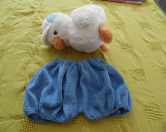 Bloomers, Bloomer, baby blue. Size 6 months