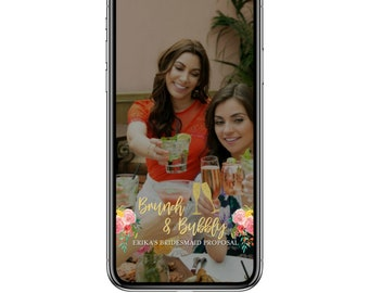Brunch & Bubbly Geofilter