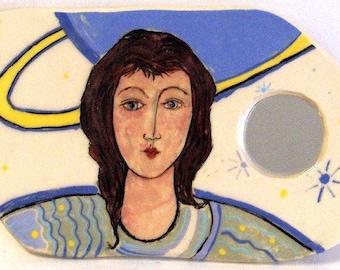 Deocrative Mirror - Angel On My Wall