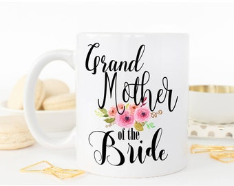 Grandmother of The Bride, Grandmother Wedding Gift, Grandmother of the Bride gift, Wedding Gift for grandmother, Grandma of The Bride