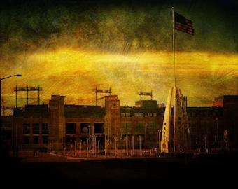 Lambeau Field - Green Bay Packers - Fine Art Photograph - Home Decor, Packers Decor, Packers Art