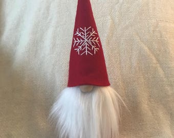 Swedish Christmas Gnome Tomte Nisse Felt Doll SMALL