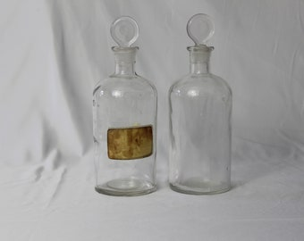 Vintage Decanter/ Apothecary Jar