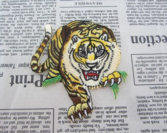 TIGER Embroidered Patches Iron On Patches