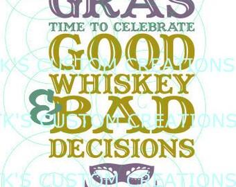 Mardi Gras Bad Decisions
