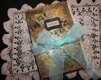Chronicles Tome Junk Journal  SOLD