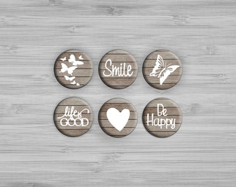 Fridge Magnets - Set of Magnets - Kitchen Decor - Gift For Her - Party Favors - Kitchen Decor - Office Decor - Housewarming Gift - Cute Gift