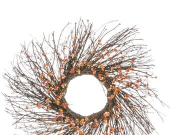 """Bittersweet Wreath 24"""""""