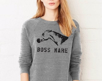 The Boss Mare Heather Gray Sweatshirt