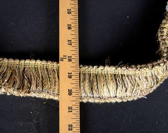 Y1030 5 Double Brush Fringe Trim Fabric