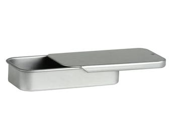 IMPERFECT 50 pcs Rectangular Slide Top Tins 1/4 oz