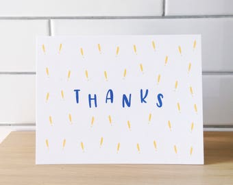 Exclamation Thank You Card