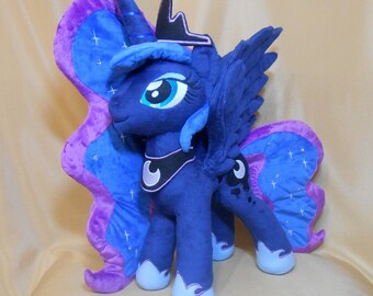 Princess Luna handmade My Little Pony plushie MLP