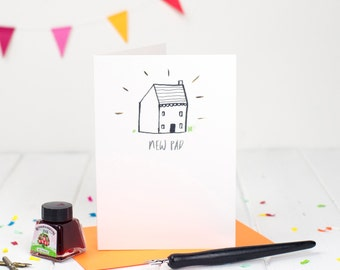 New Pad Card - Funny New House Card - New House Card - Moving Card - Housewarming Card - Welcome To New House Card
