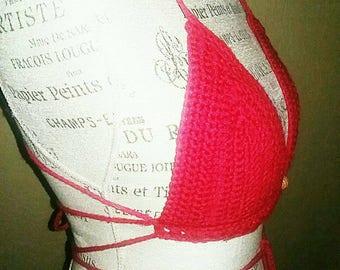 Crochet ( Bikini)  Halter Top