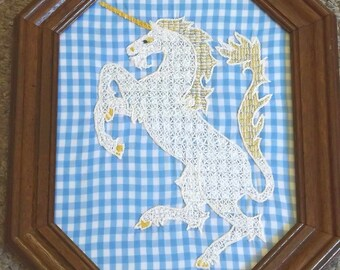 "Holbein Embroidery ""Unicorn"""