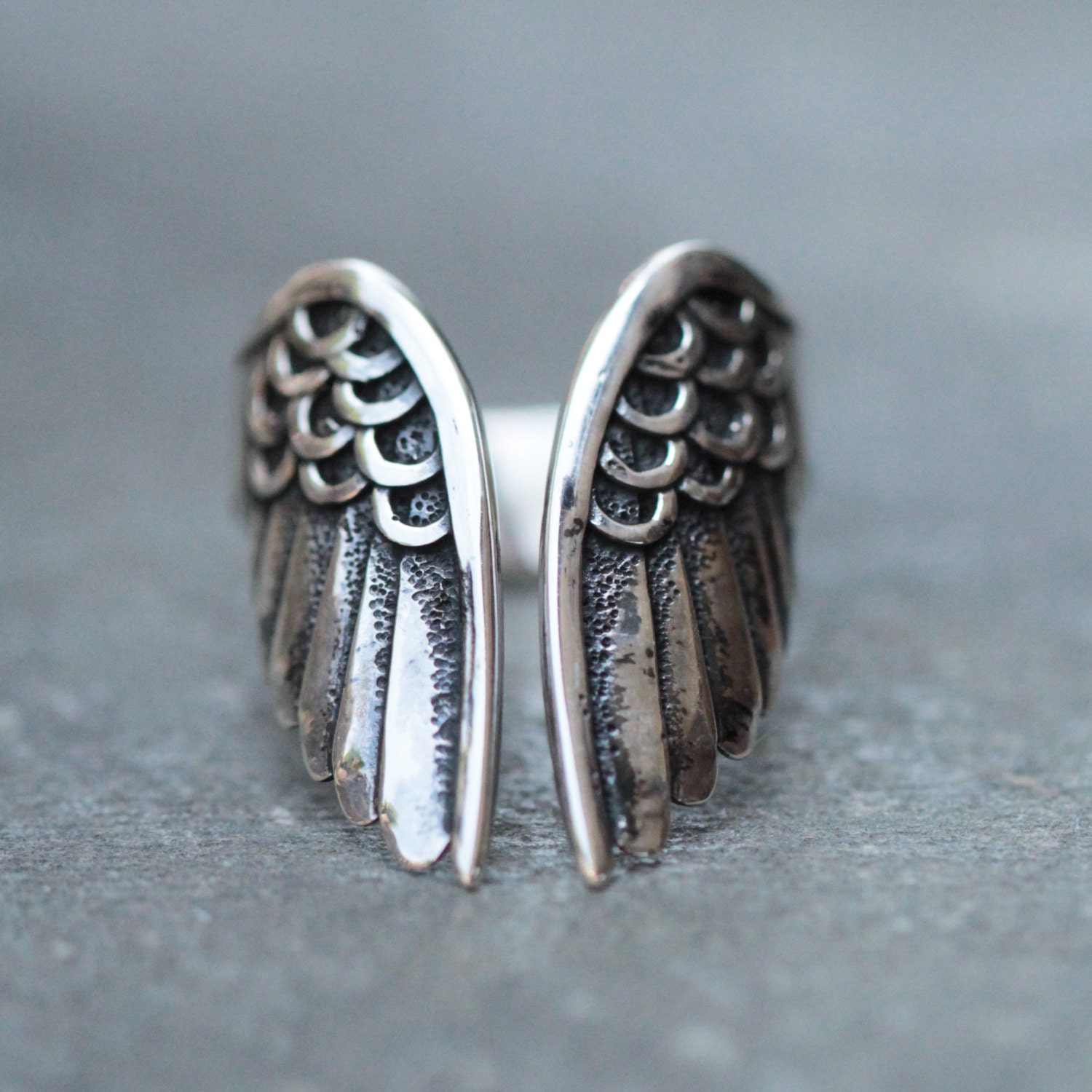 korean rings dsjqvf angel uniuqe arcane link couple ring i wings cute cupid
