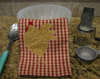 Country Hen Kitchen Towel
