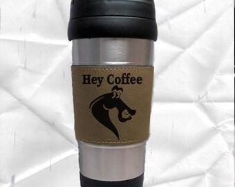 Horse Coffee Mug, Horse Travel Mug, S S Travel Mug, Horse  Gift, Horse Cup, Horse Show Year-End Award, Horse Lover. Barn Gift, Friendship