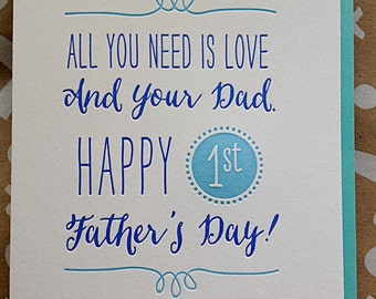 happy first fathers day quotes