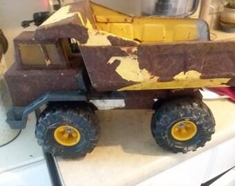 Vintage Tonka Dump Truck, vintage toy, vintage push toy, vintage outside toy, Tonka