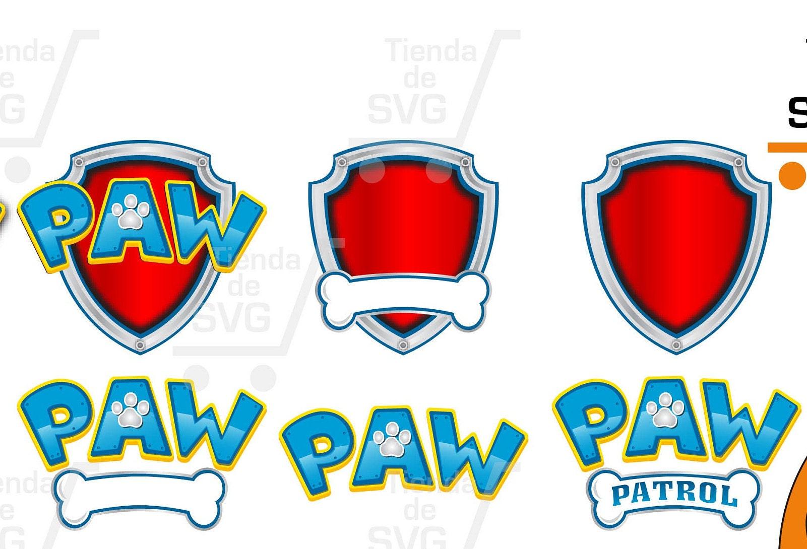Paw Patrol Svg Escudo Fonts
