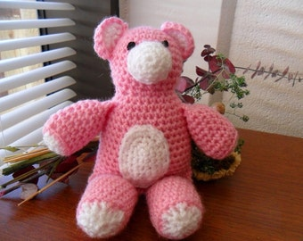 Pink Teddy Bear - Pink Teddybear - Pink Teddy Bear Plush - Pink Teddybear Plush - Pink Teddy Bear Doll - Pink Teddybear Doll - Baby Teddy