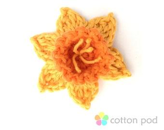 CROCHET KIT - Daffodil by Cotton Pod