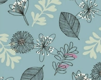 extra15 30% OFF Whisper by Victoria Johnson for Windham Fabrics Blue Floral