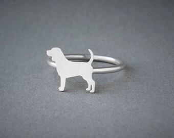 BEAGLE Ring • Beagle • Name Ring • Ring • Custom Ring • Dog Gift • Dog Ring • Dog Breed • Beagle Gift