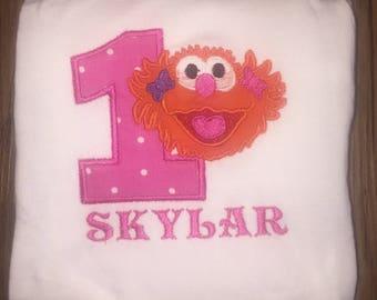Zoe Inspired Birthday Shirt