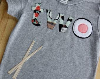 Twoshi Sushi Birthday Shirt, Second Birthday Shirt, Sushi Roll Shirt, I Love Sushi
