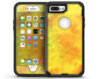 Orange v2 Absorbed Watercolor Texture - OtterBox Case Skin-Kit for the iPhone, Galaxy & More