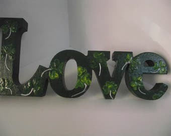 Love decoration - Shamrock