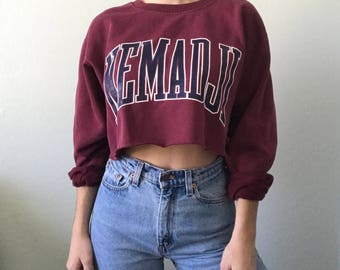 Vintage Cropped Pullover