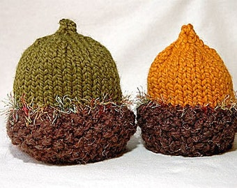 Green Acorn Hat