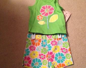 24 Mth Girls Shorts Set