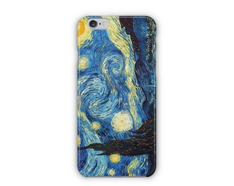 Case for iPhone 8, iPhone 6s,  iPhone 6 Plus,  iPhone 5s,  iPhone SE,  iPhone 5c,  iPhone 7  - The Starry Night by Van Gogh iPhone
