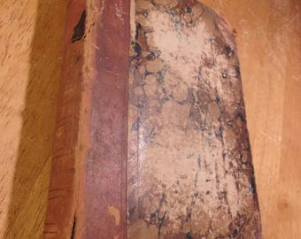 1846 Book Knight's Penny Magazine Volumes 1 & 2 (bound as 1 volume)